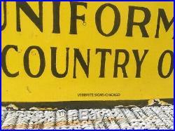 1940s Alemite Motor Oil Double Sided Porcelain Sign