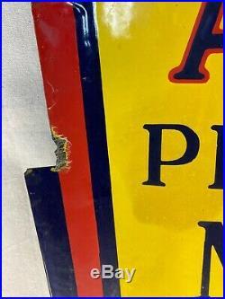 Alemite Motor Oil Sign