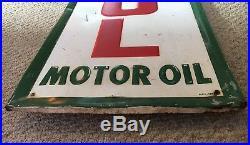 Castrol Motor Oil Garage Sign