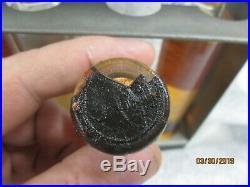 Early Gulf Gulfpride Aviation / Marine Motor Oil Bottle s Full