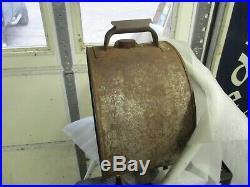 Early Original Beacon Motor Oil 5 Gallon Rocker Can