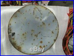 Early Original Cities Service Motor Oil Porcelain Sign