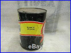 Early Original Signal Penn Motor Oil One Quart Can Metal