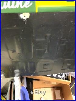 Early Tin Not PORCELAIN EN-AR-CO MOTOR OIL SIGN Very Rare! White Rose