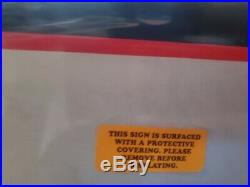 Kendall Motor Oil Metal Sign 6 Ft By 3 Ft in factory wrap. Socal speed shop
