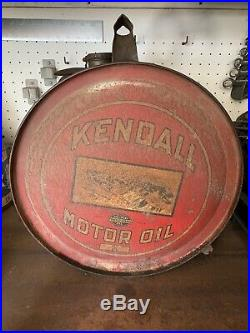 Kendall Rocker Motor Oil Can Sign