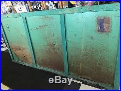 Large Vintage Texaco Gasoline Motor Oil porcelain Metal Sign 4x8 gas station old
