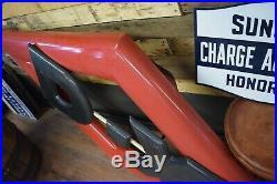ORIGINAL DX MOTOR OIL GASOLINE SIGN PORCELAIN D-X DIAMOND Dealer WILL SHIP HUUGE