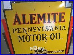 alemite | Sign Motor Oil