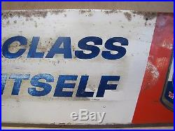 Orig Old Atlantic Imperial Motor Oil Advertising Display Rack Sign gas station