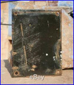 Original 1930's Old Vintage Rare SOCONY Motor Oil Porcelain Enamel Sign Board