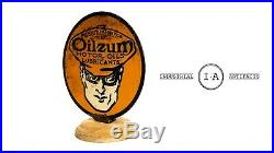 Original Oilzum Motor Oil Lubester Paddle Sign