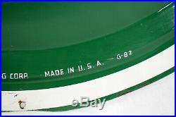 Original QUAKER STATE Motor Oil Convex Button Sign 24 G-82 Gas Petroliana