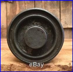 RARE Vintage 1920s VALVOLINE Motor Oil 1LB Pressure Gun Lubricant Tin Can Sign