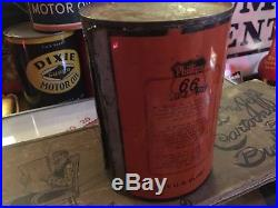 Rare Early Phillips 66 Quart Motor Oil Can Original Qt Gas Station Plane Sign