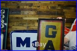 Rare Galena Motor Oil Sign Franklin PA early 30's Wood Framed Gas Station Dealer