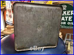 Rare Vintage HY FLASH 2 Gallon Motor Oil Can Original HyFlash Advertising Sign