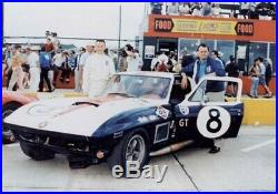 Rare embossed DX Motor Oil Gas lighted Sign. 1967 date. Sunray DX 427 L88 corvette