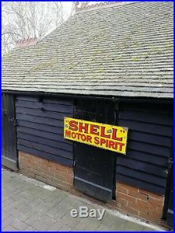Shell Enamel Sign motor oil enamel sign petrol enamel sign garage sign shell oil
