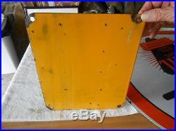 Sunoco Mercury Motor Oil Sign