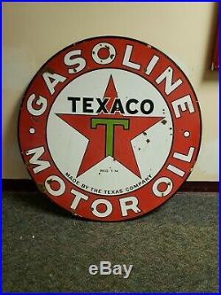 Texaco Gasoline motor Oil