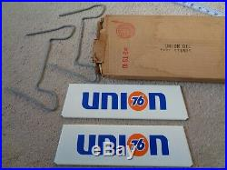 Union 76 Motor Oil Tire Stand Original Collectible Vintage Nos