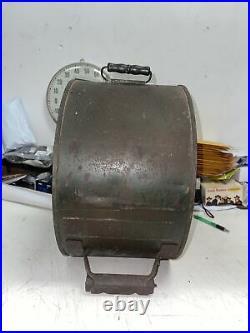 Vintage Antique Sinclair Dino Motor Oil Rocker Can Metal