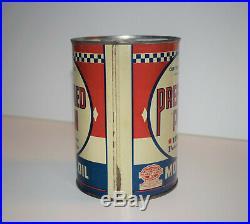 Vintage PREFERRED PENN Pennsylvania Motor Oil 1Qt Can Auto Gas UNOPENED EMPTY