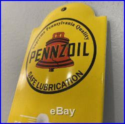 Vintage Pennzoil Porcelain Sign, Dealership, Gas, Gasoline, Motor Oil, Rare