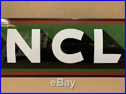 Vintage Porcelain Sinclair Sign Gasoline Motor Oil Pump Dino Gas Service Statiom
