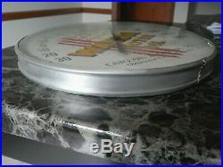 Vintage Rare Wanda Motor Oilcato Oil&grease Metal/glass Thermometersuper Nice