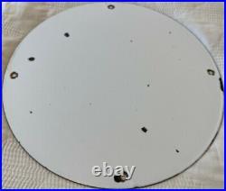 Vintage Signal Gasoline Porcelain Sign Gas Station Motor Oil Rare Pump Plate