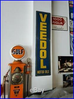 Vintage VEEDOL Motor Oil Sign